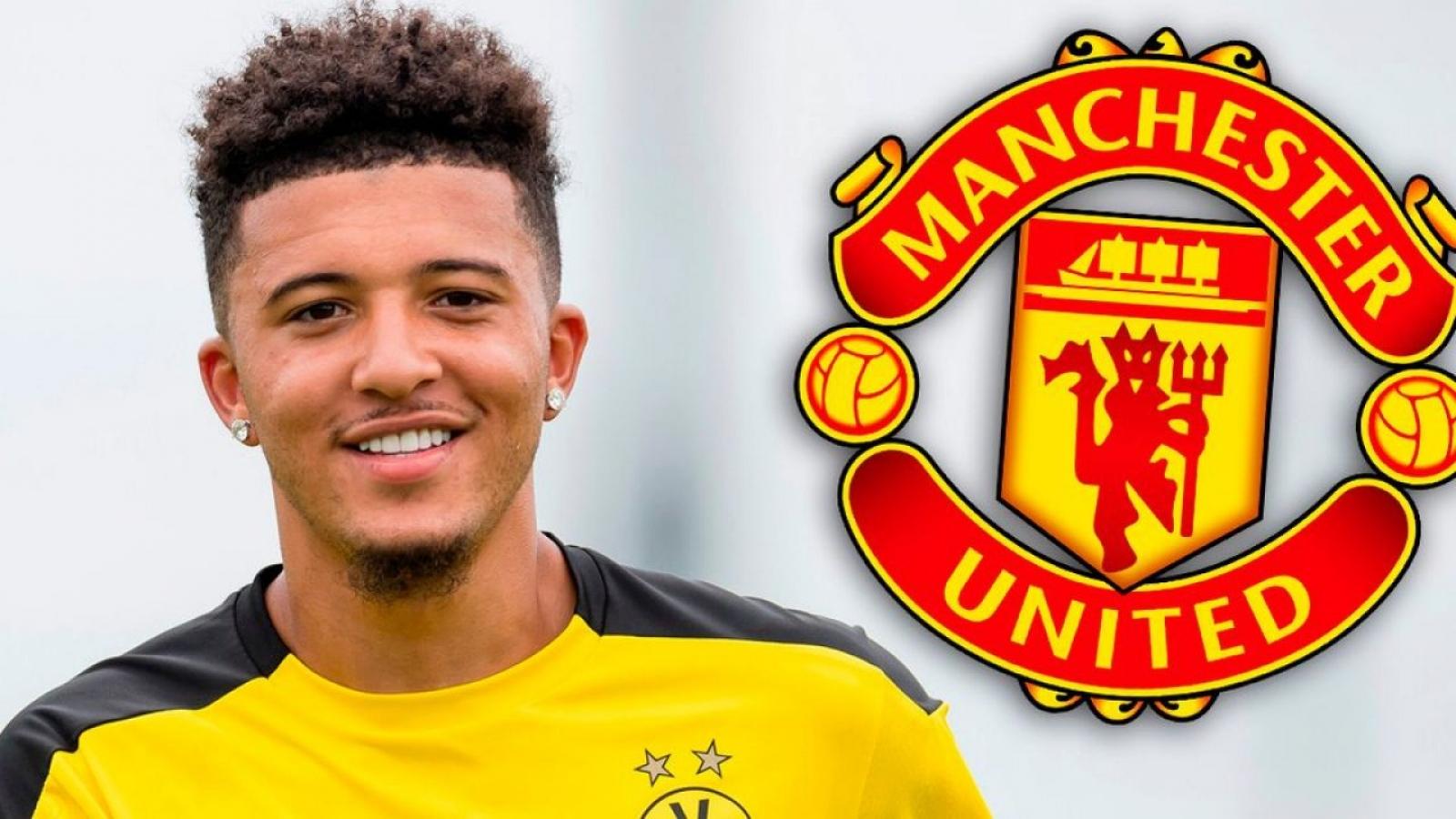Dấu hiệu cho thấy Dortmund sắp sửa bán Sancho cho MU?