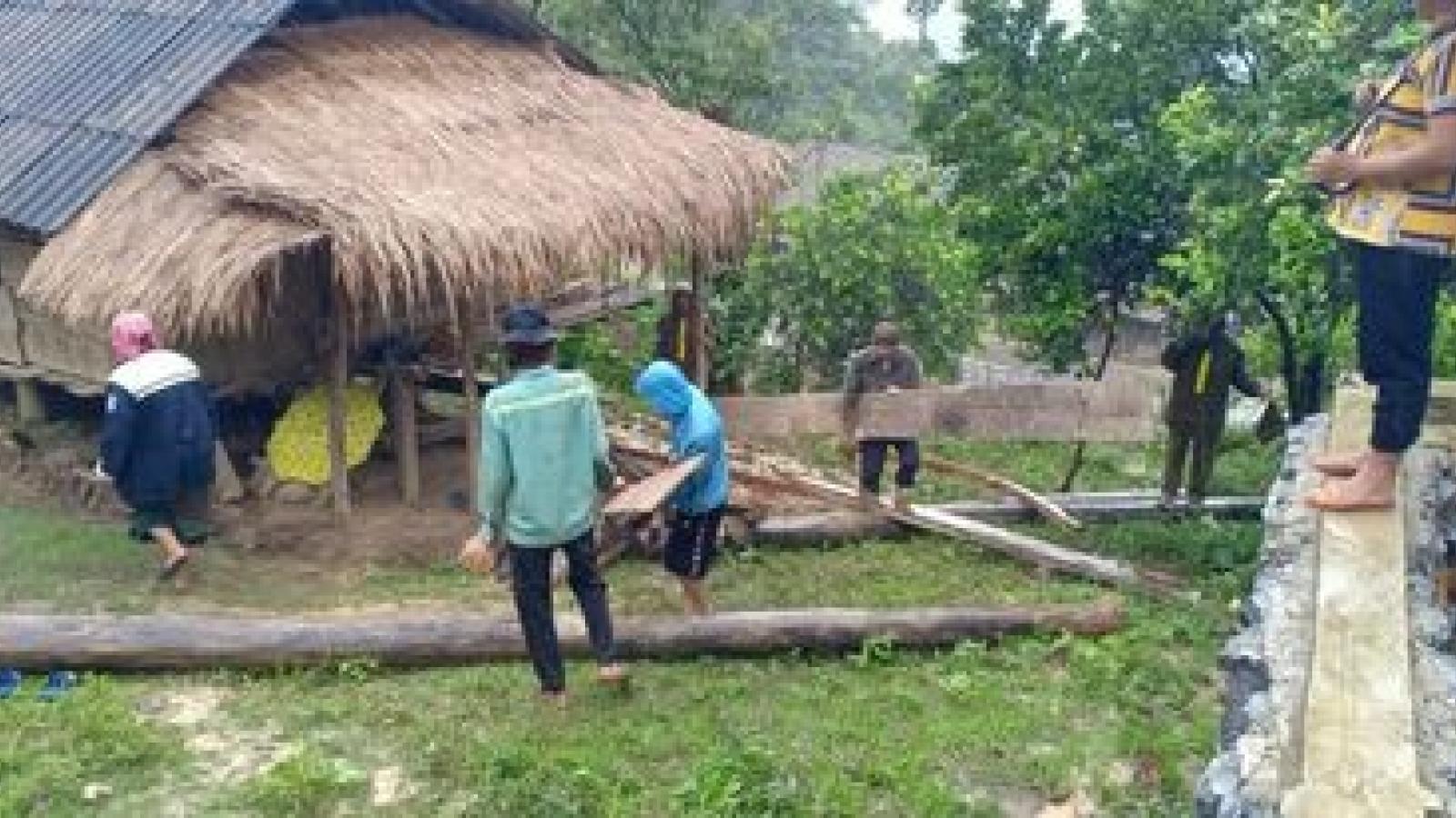 Di dời 36 hộ dân ảnh hưởng sạt lở tại Nghệ An