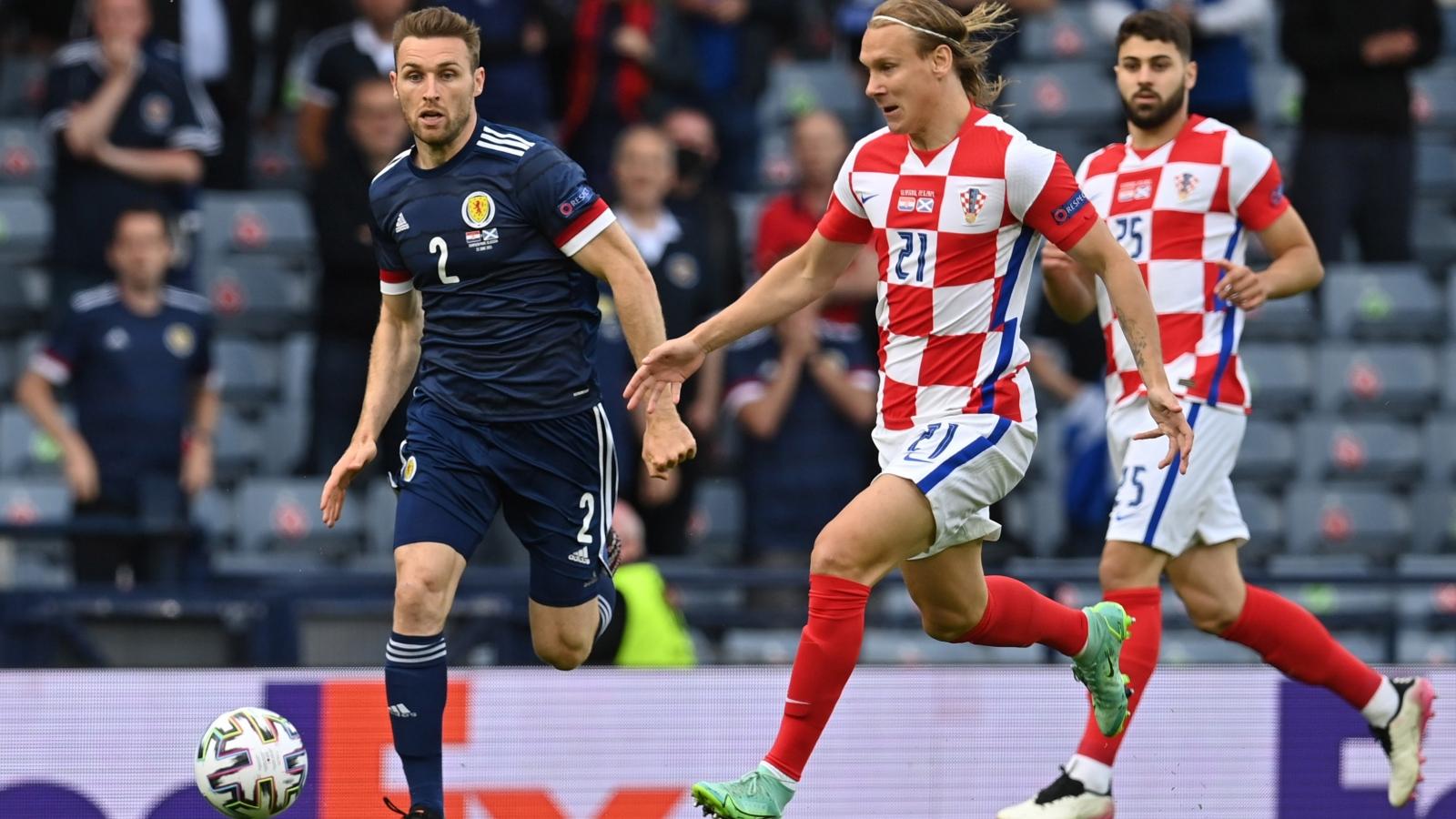 Trực tiếp Croatia 1-0 Scotland: Đội khách vươn lên