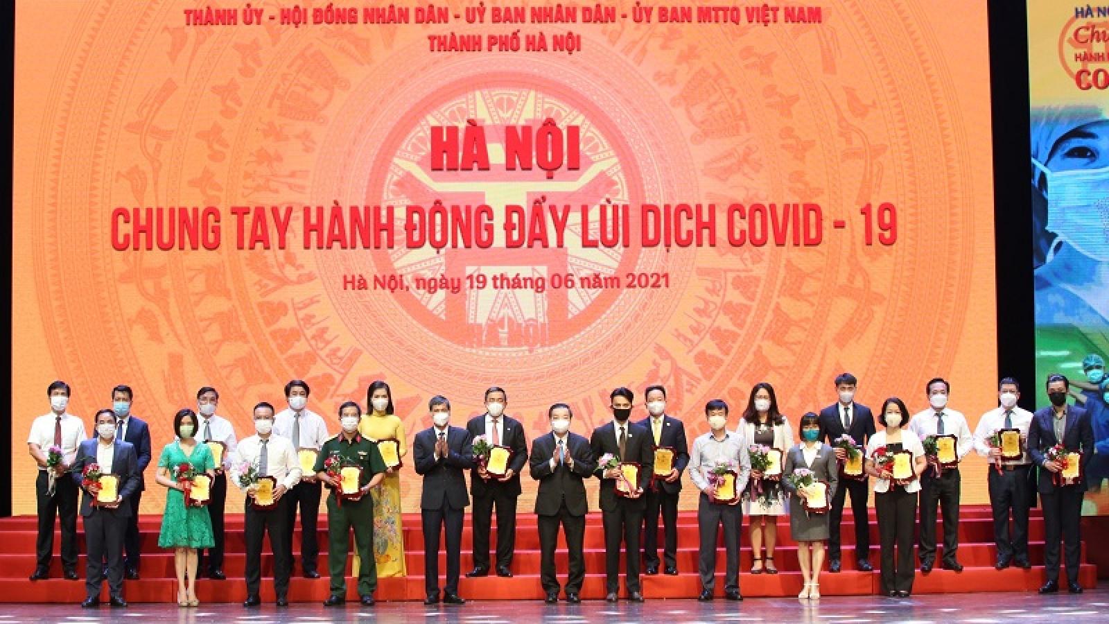 Hà Nội tiếp nhận hỗ trợ hơn 1.700 tỷ đồng và 2,5 triệu liều vaccine
