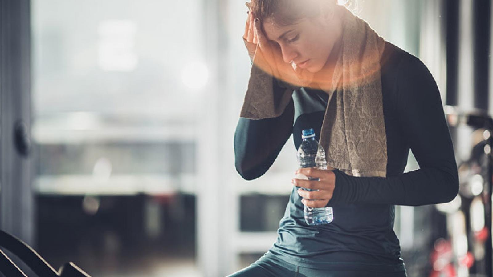 5 nguyên nhân chính gây đau đầu sau khi luyện tập thể thao