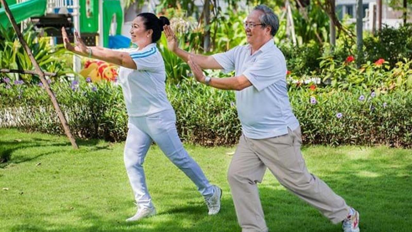 Thay đổi lối sống để có một cuộc sống khỏe mạnh lúc về già
