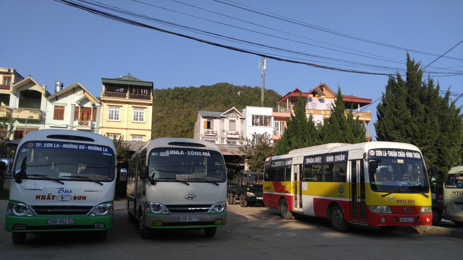 Sơn La tạm dừng hoạt động vận tải hành khách một số tuyến nội tỉnh