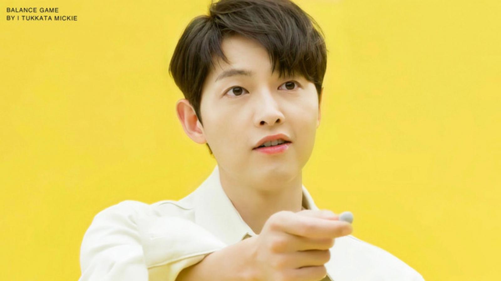 """Song Joong Ki lần đầu """"bóc mẽ"""" bí mật của bản thân"""