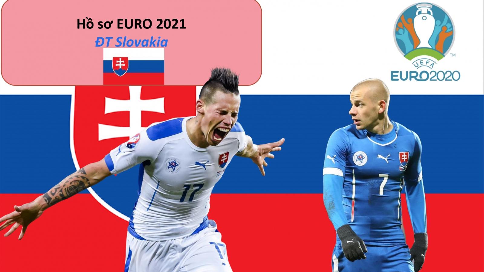 Hồ sơ các ĐT dự EURO 2021: Đội tuyển Slovakia