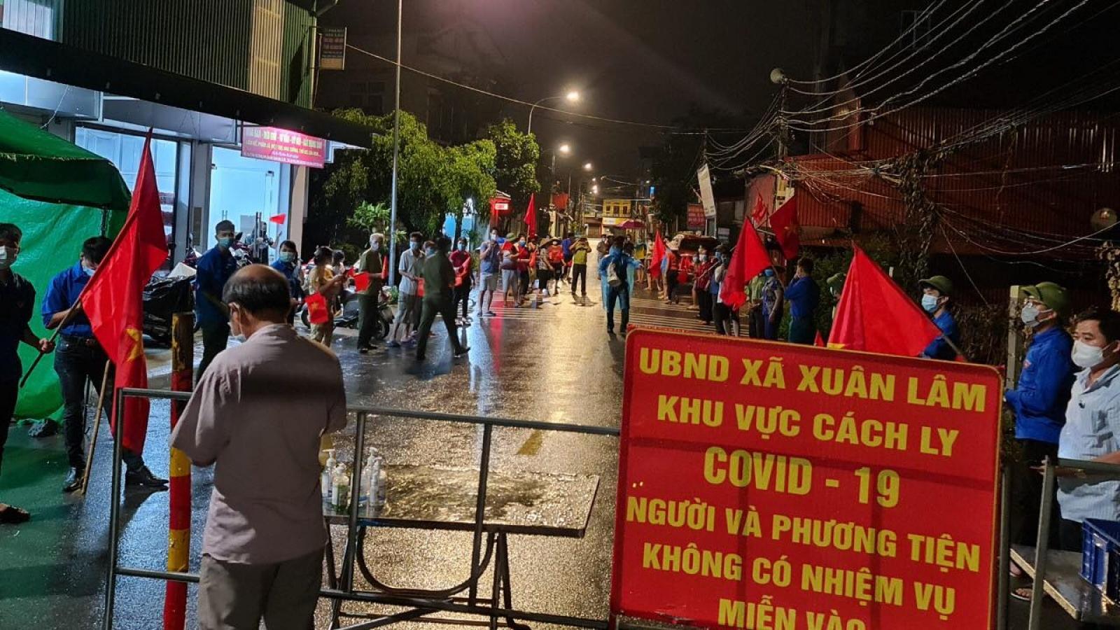 Bắc Ninh nới lỏng giãn cách xã hội tại Yên Phong, Quế Võ