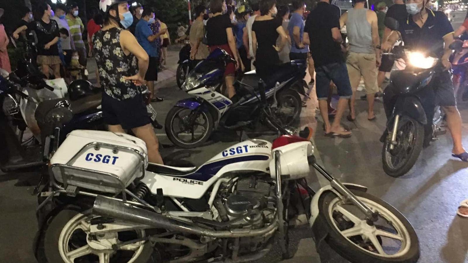 Nam thanh niên chống đối, gây tai nạn khiển 1 CSGT bị vỡ đầu gối