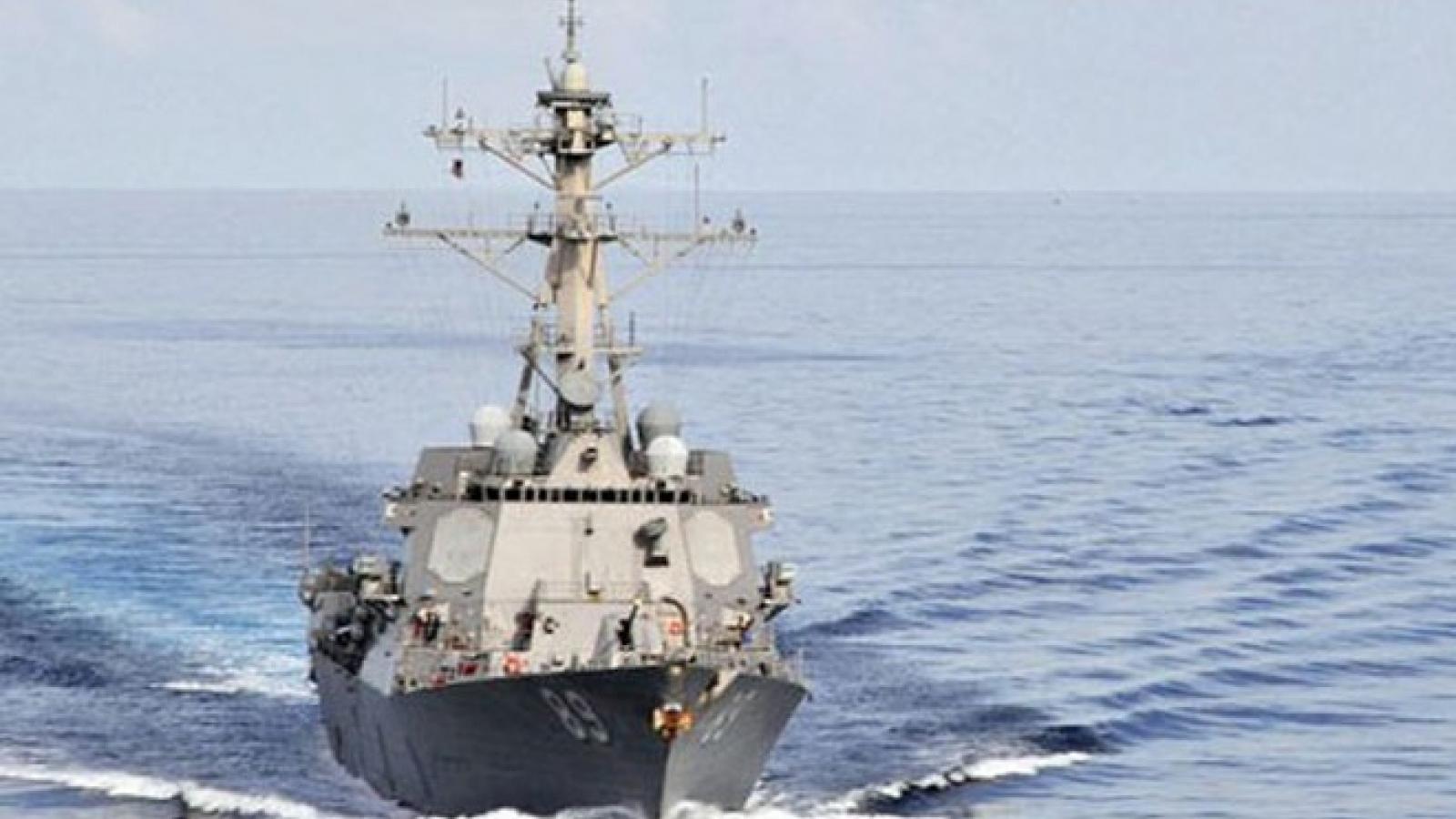 Mỹ tiếp tục phản đối các yêu sách hàng hải phi pháp của Trung Quốc ở Biển Đông