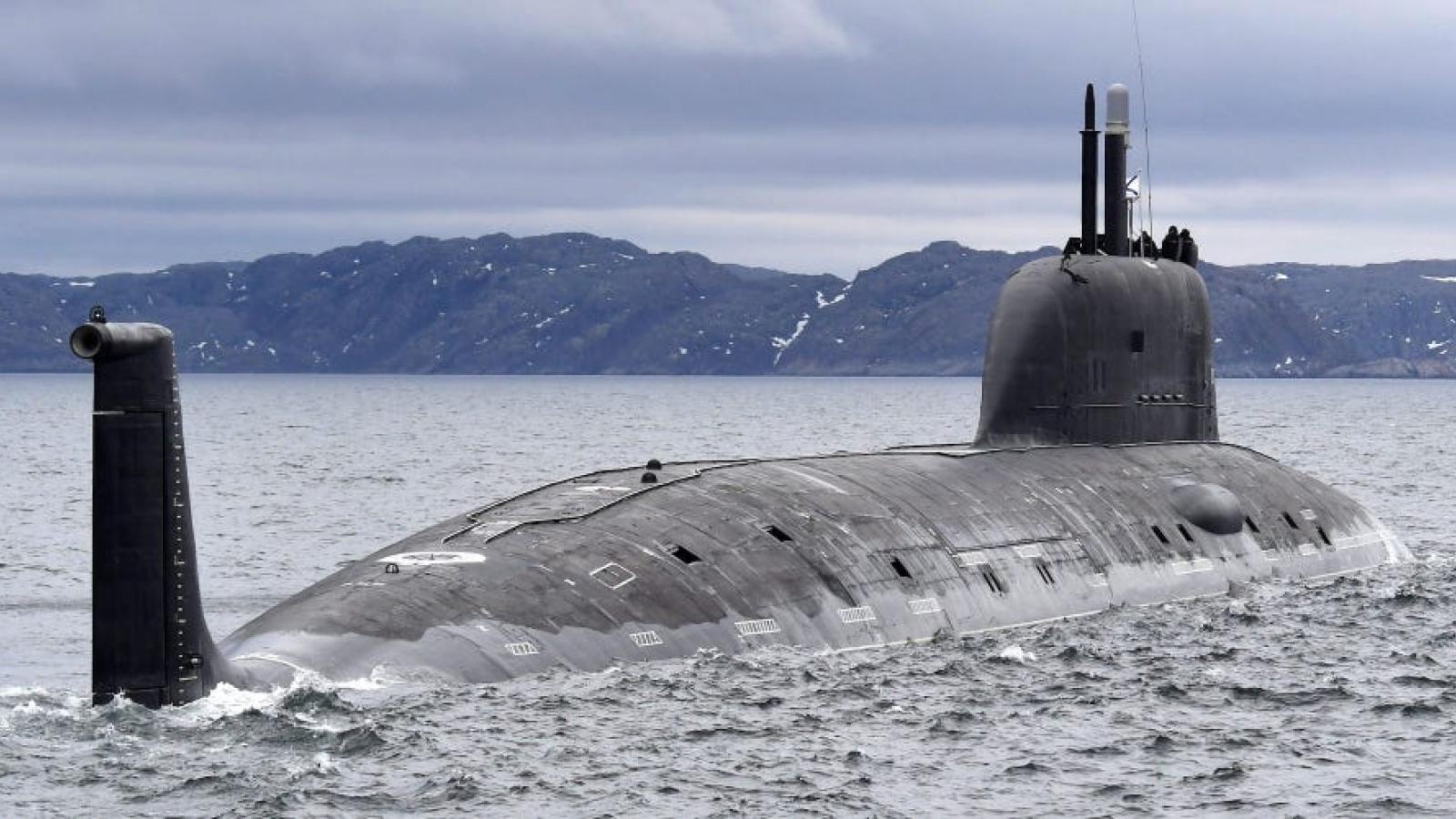 """Tàu ngầm hạt nhân """"biến hóa khó lường"""" của Nga khiến Mỹ và NATO lo ngại"""