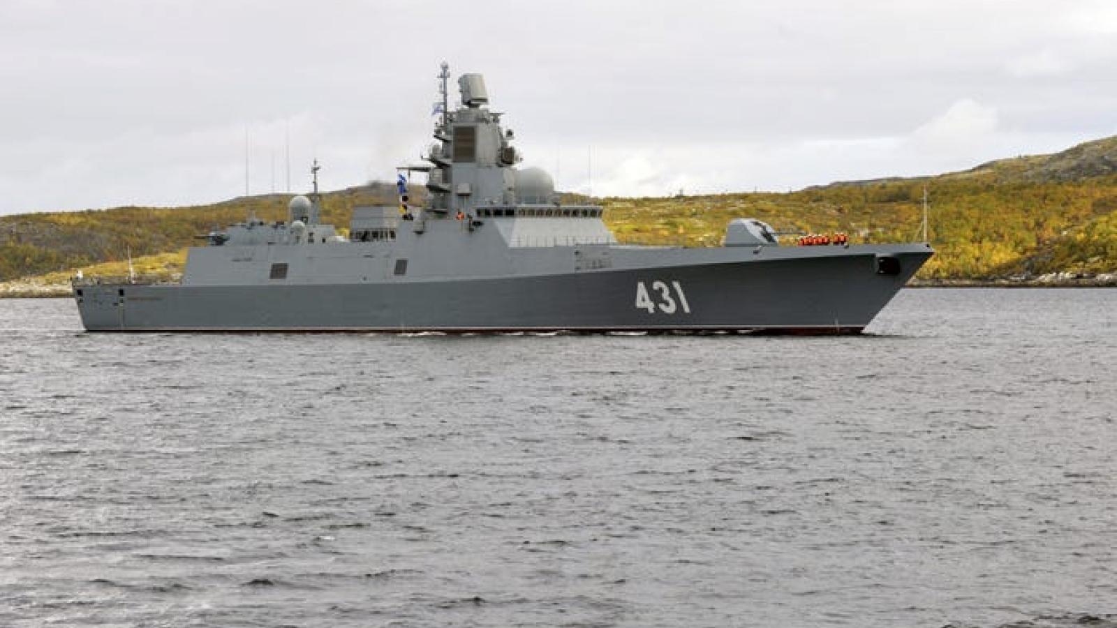 """Những tàu khu trục """"nhỏ nhưng có võ"""" sẽ sớm trở thành xương sống của Hải quân Nga"""