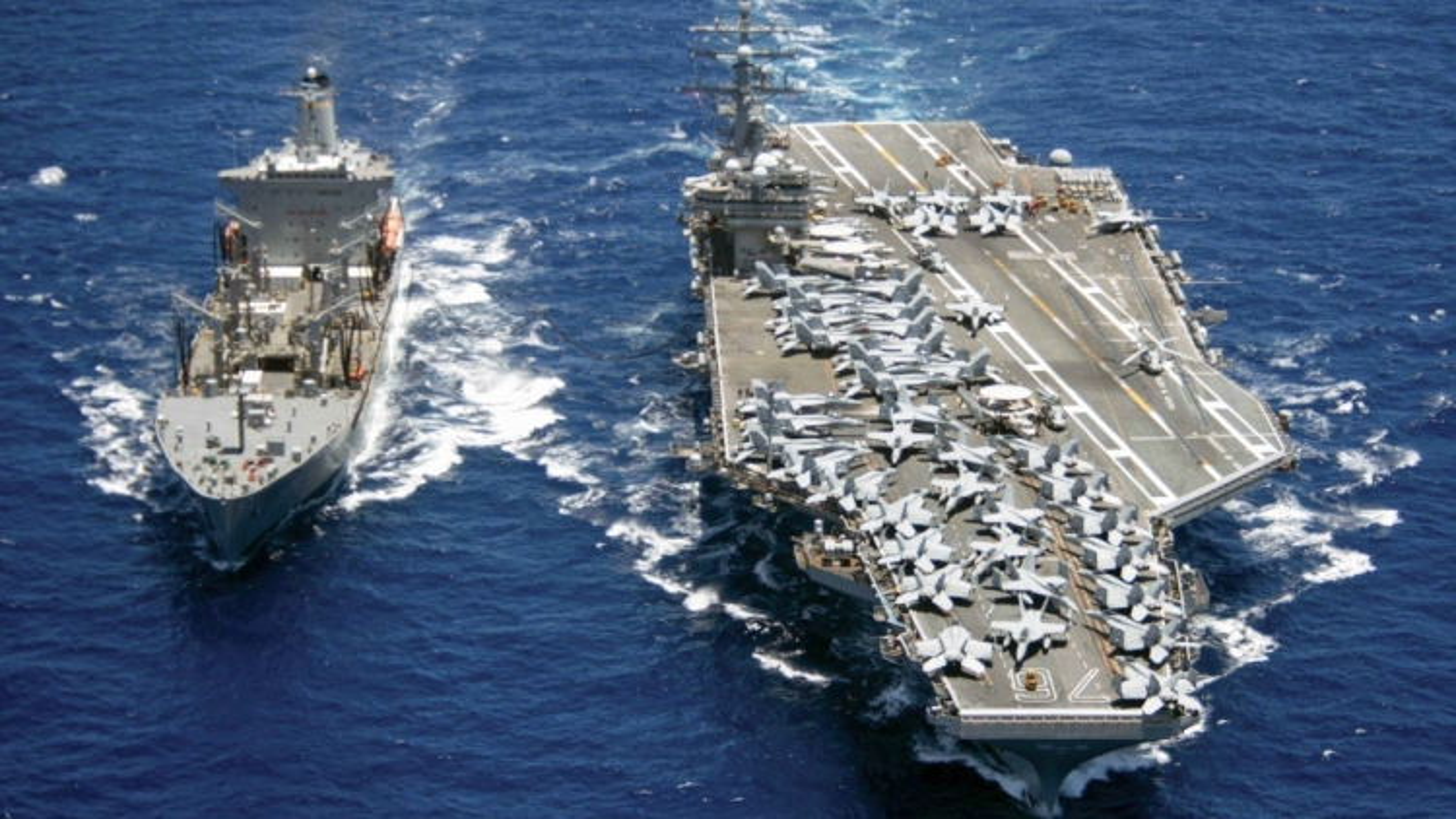 Nhóm tác chiến tàu sân bay Hải quân Mỹ hoạt động ở Biển Đông