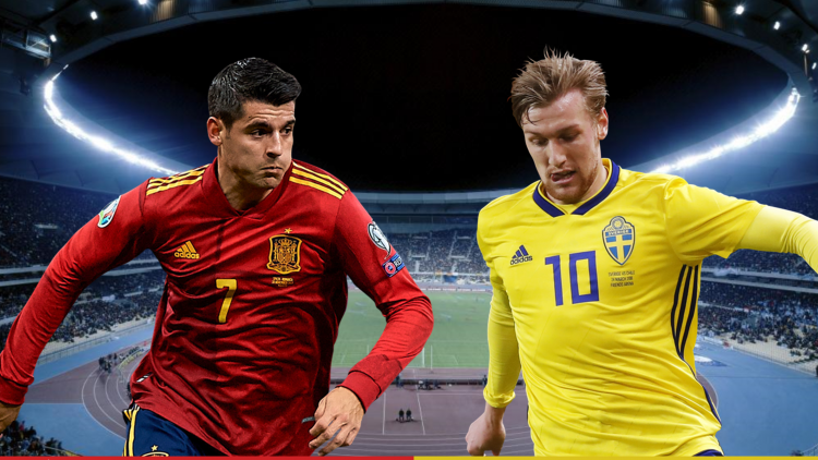Dự đoán tỷ số, đội hình xuất phát trận Tây Ban Nha - Thụy Điển