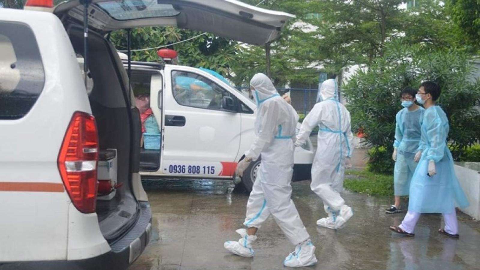 Thái Bình khẩn trươngtruy vết các trường hợp tiếp xúclái xe dương tính với SARS-CoV-2