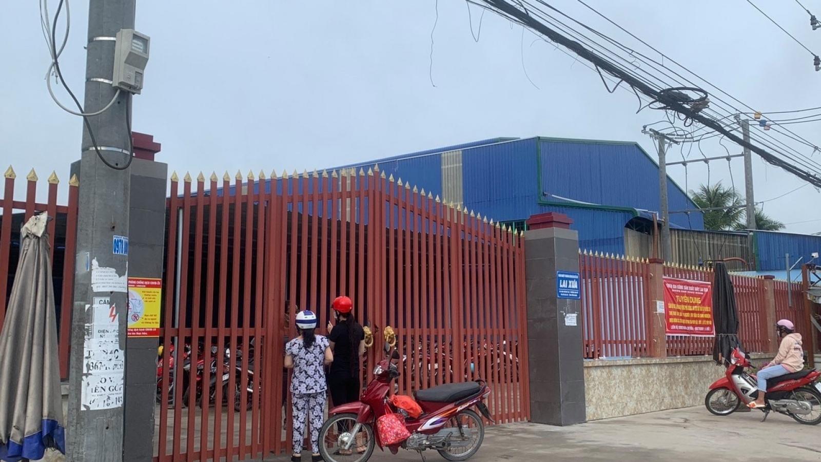 Một doanh nghiệp ở Tiền Giang bị phong tỏa do có ca dương tính với SARS-CoV-2