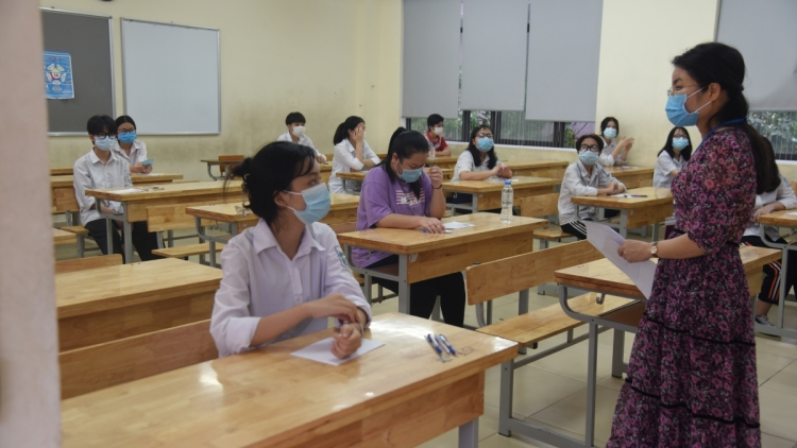 Rà soát tất cả các khâu để kỳ thi tốt nghiệp THPT năm 2021 tại Hà Nội diễn ra an toàn