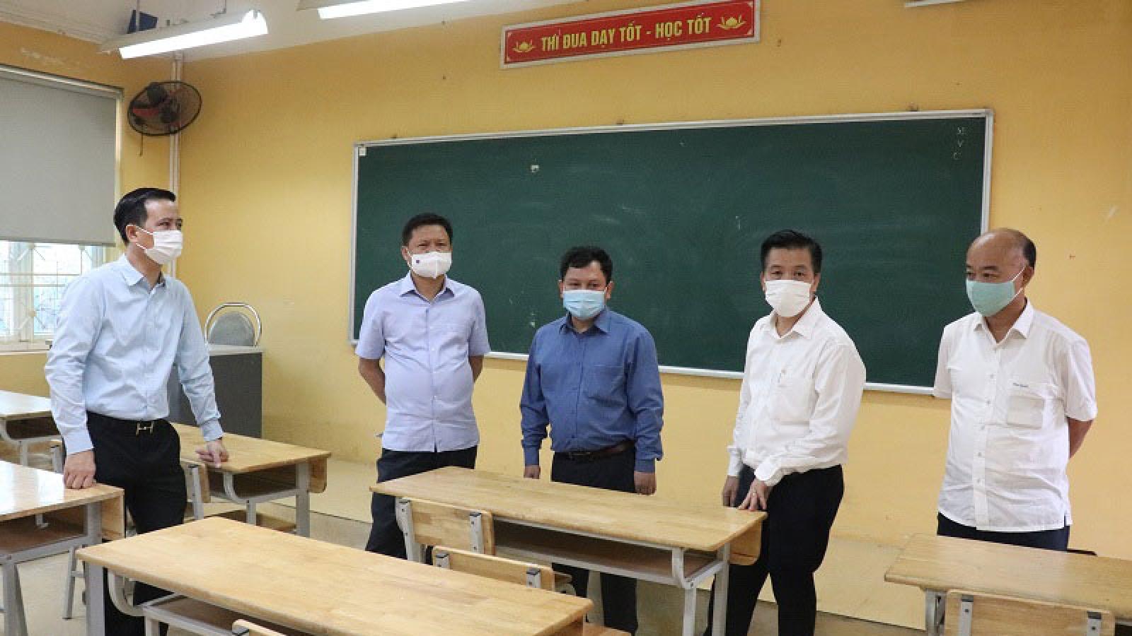 Hà Nội huy động hơn 500 người làm thanh tra thi vào lớp 10