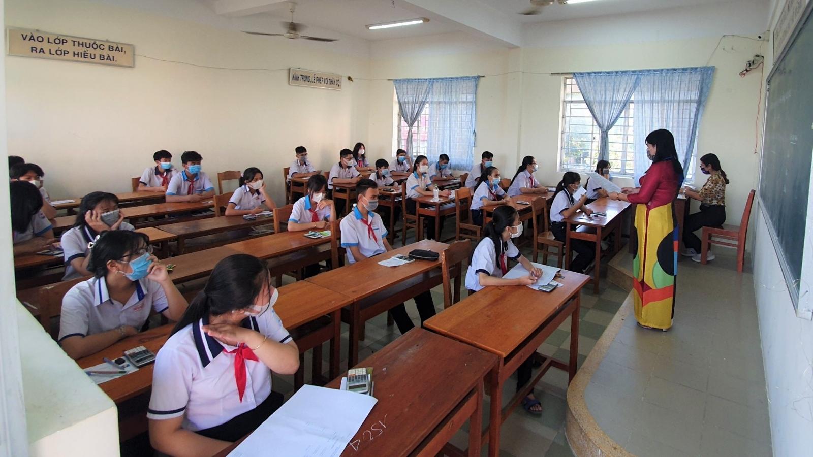 Hơn 13.200 thí sinh Cần Thơ bước vào kỳ thi tuyển sinh lớp 10, năm học 2021-2022