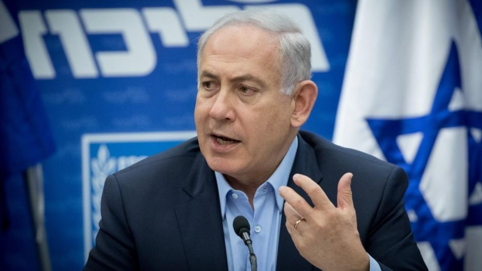 Thủ tướng Israel Netanyahu cố gắng lật ngược thế cờ trong một tuần cuối cùng