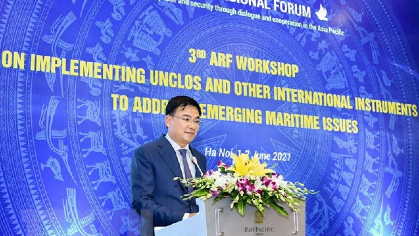 Việt Nam khẳng định vai trò quan trọng của Công ước LHQ về Luật Biển 1982