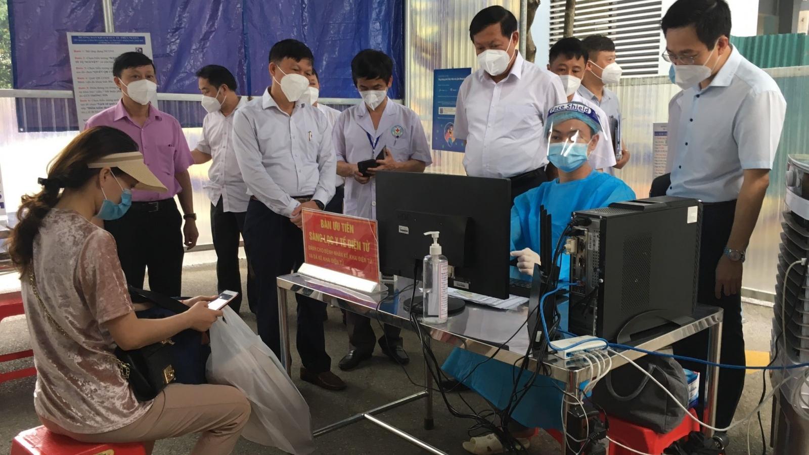 """""""BVĐK Bắc Ninh phải bảo vệ được thành trì điều trị trong tình hình dịch hiện nay"""""""