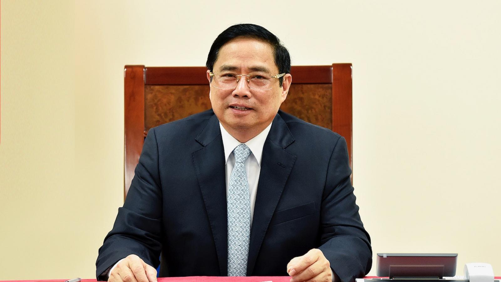 Thủ tướng Việt Nam và Pháp nhất trí thúc đẩy hợp tác trên nhiều lĩnh vực