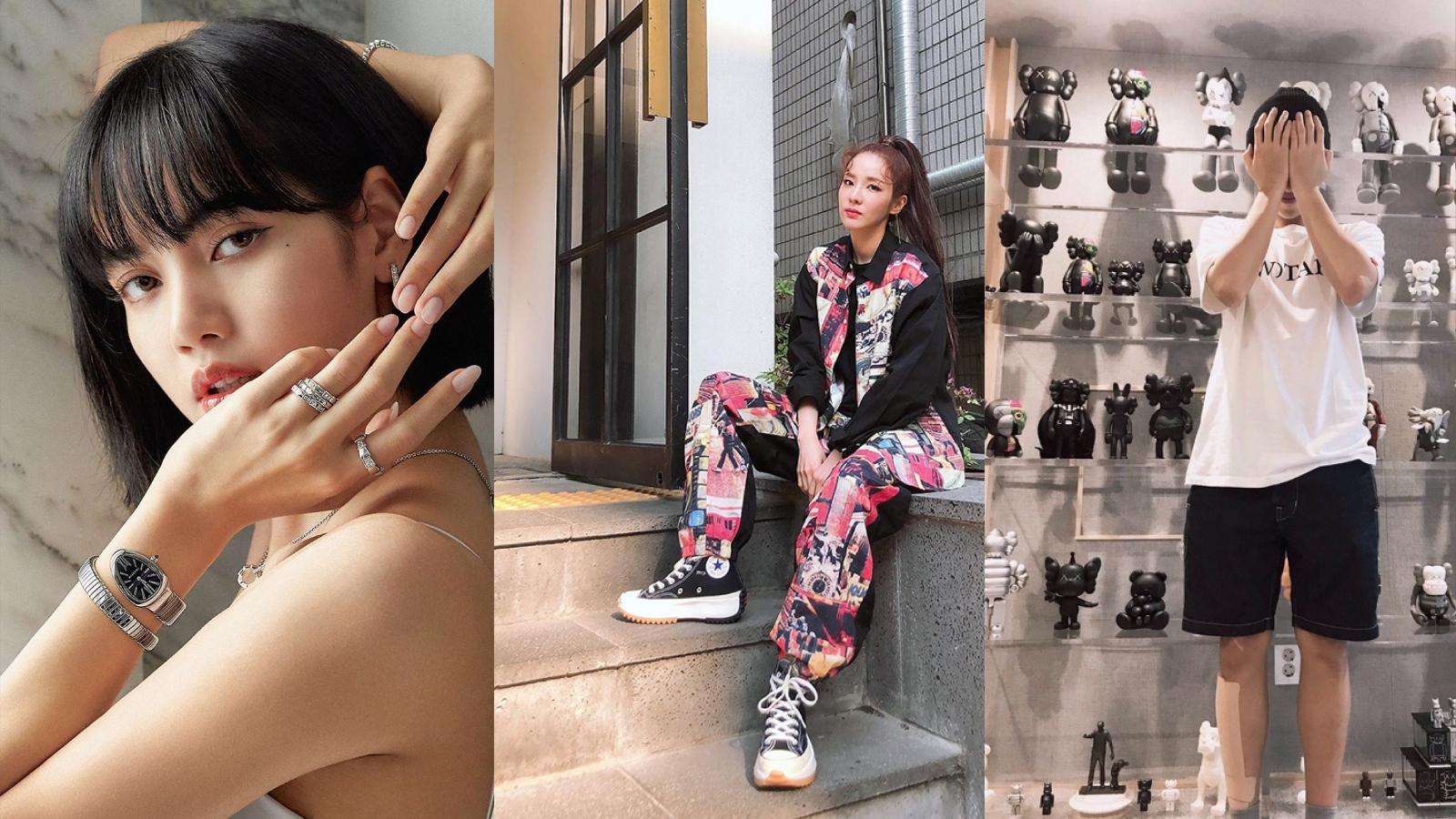 Những bộ sưu tập đồ hiệu độc đáo và đắt đỏ của dàn sao K-Pop