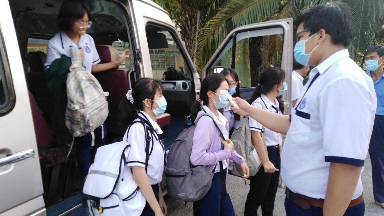 Tiền Giang sẽ xét nghiệm nhanh Covid-19 thí sinh và cán bộ coi thi tốt nghiệp THPT