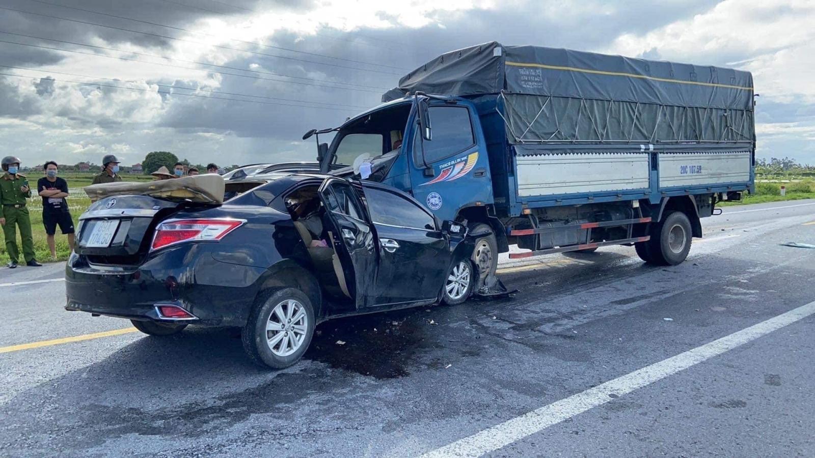 Vụ tai nạn3 người chết ở Hưng Yên: Xe còn đăng kiểm, lái xe không có nồng độ cồn, ma túy