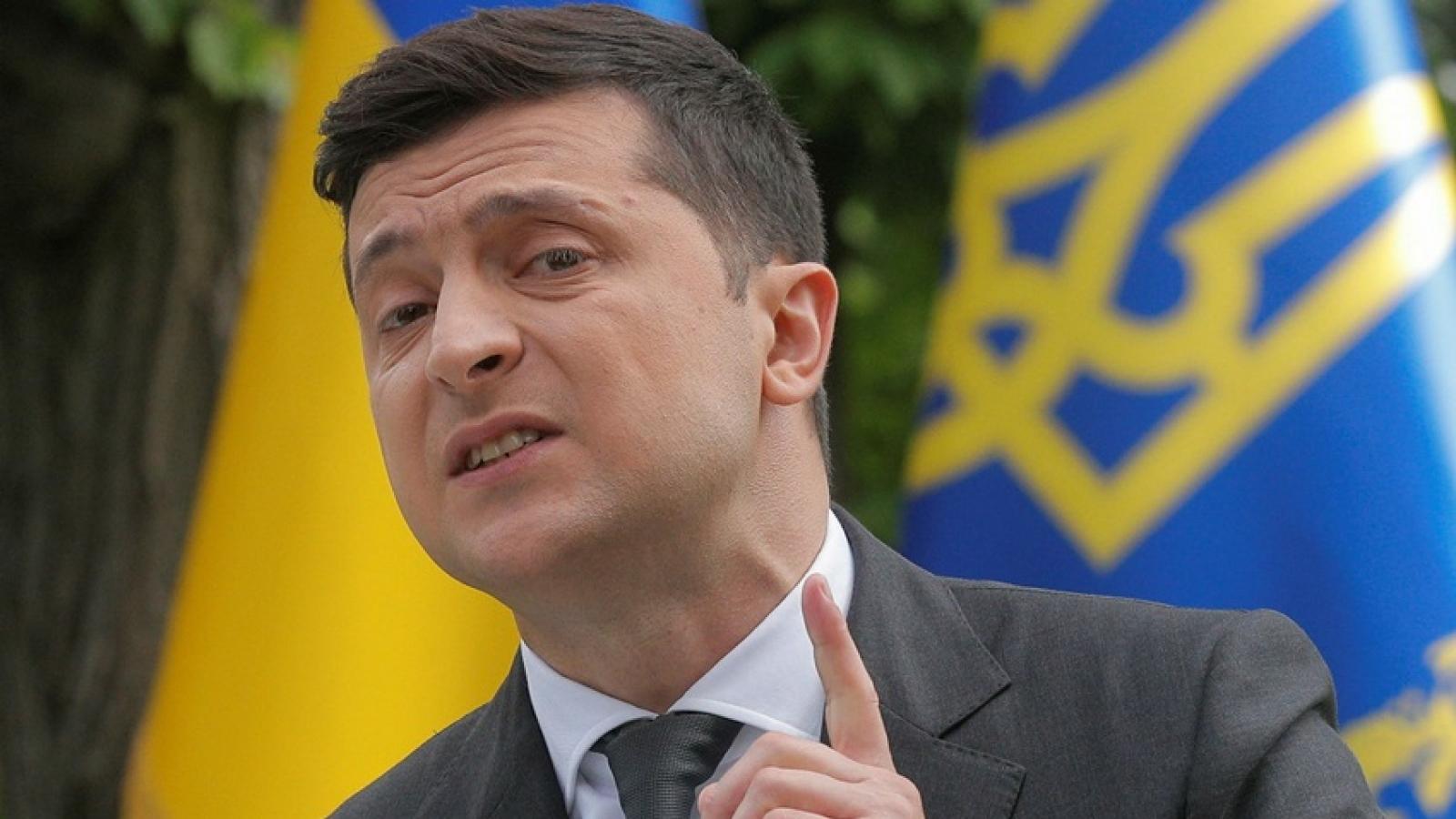 Tổng thống Zelensky đề xuấtmột hình thức đàm phán mới về vấn đề Ukraine