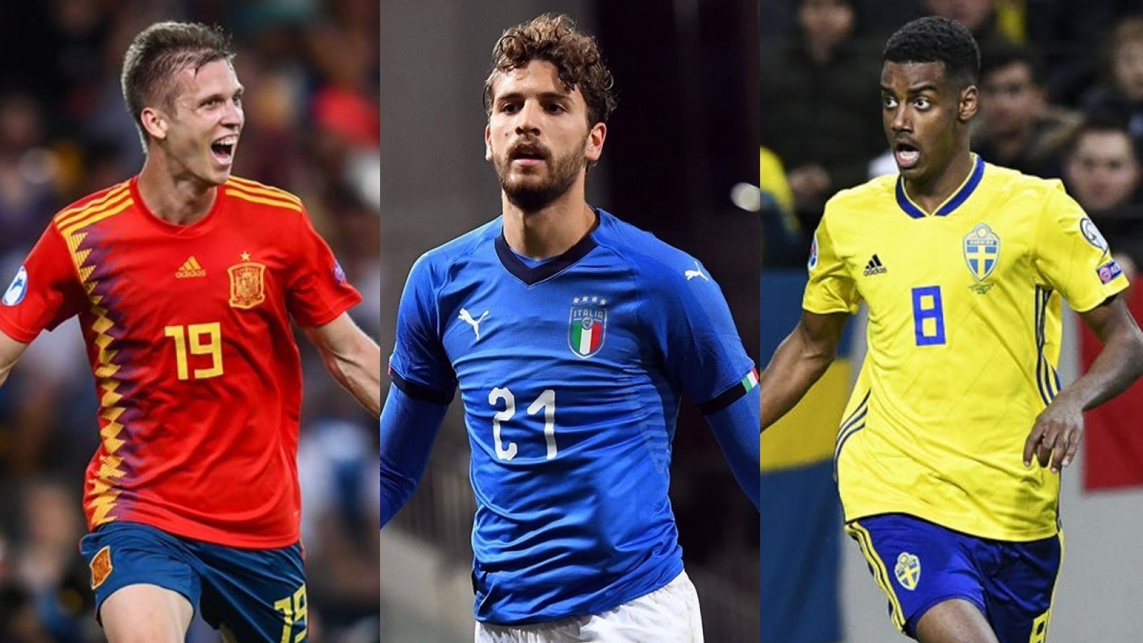 Top 10 tài năng trẻ hứa hẹn tỏa sáng ở VCK EURO 2020