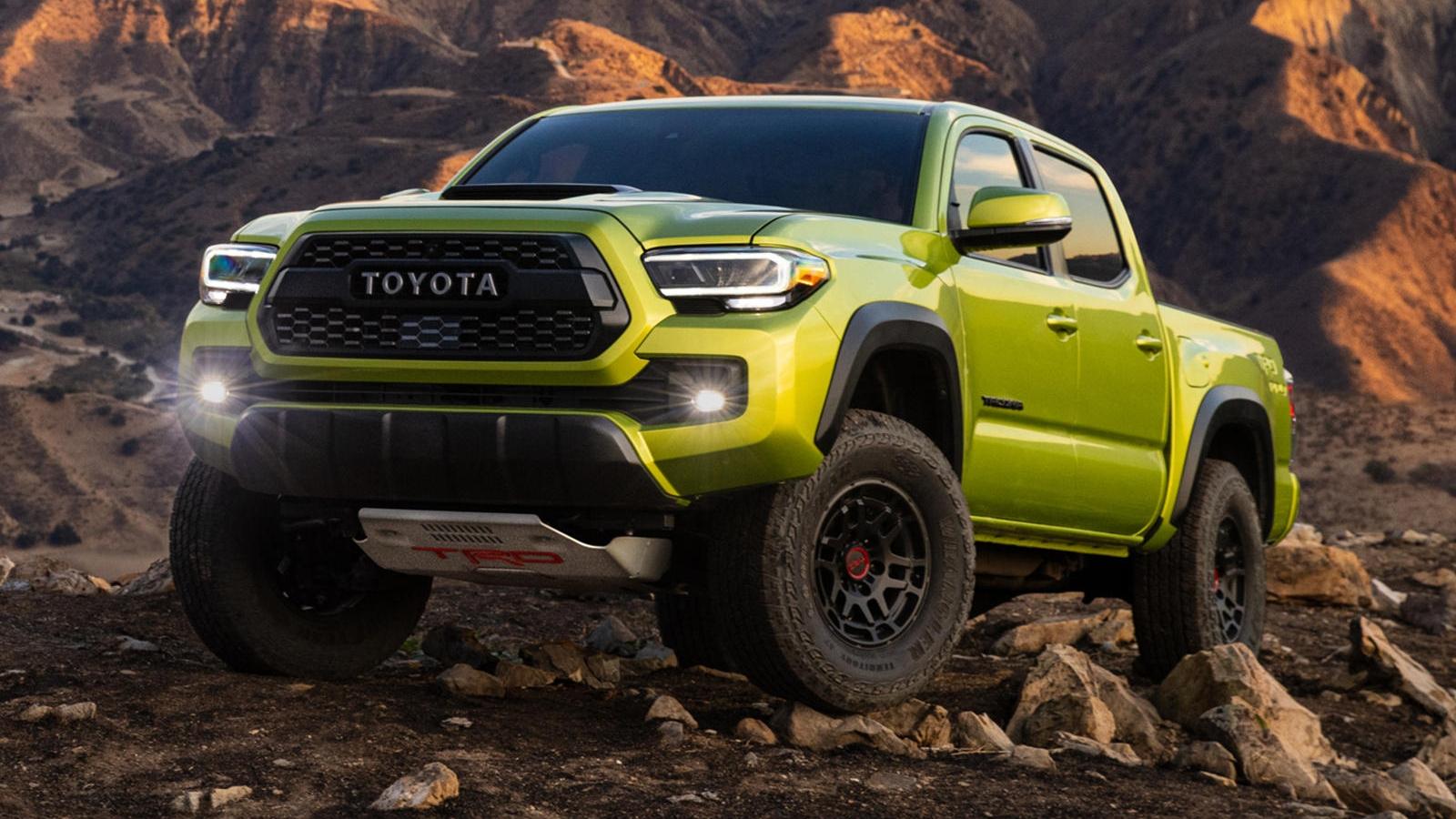 Toyota tung bản nâng cấp cho Tacoma TRD Pro 2022