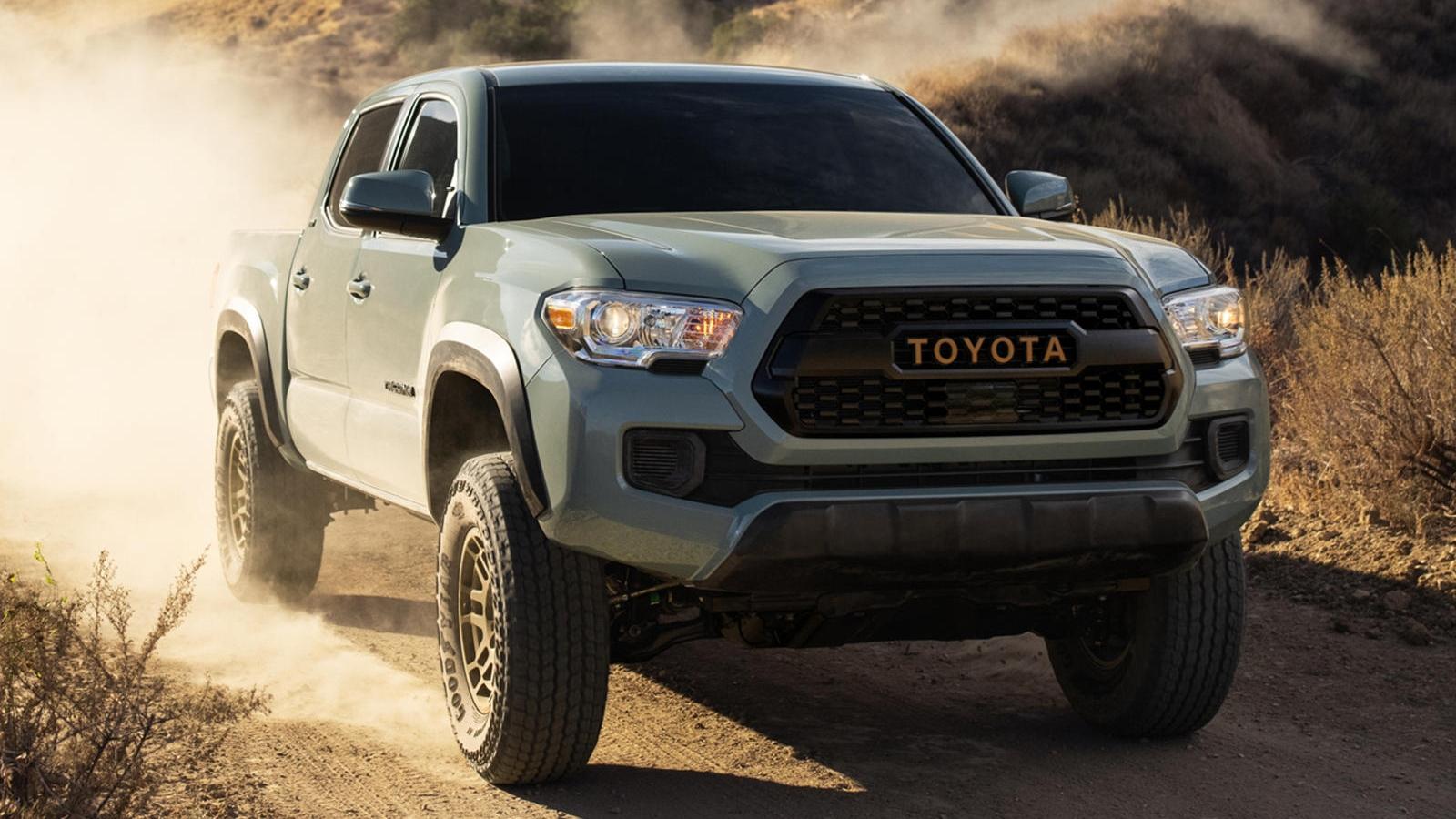Toyota Tacoma Trail Edition 2022 ra mắt, giá gần 40.000 USD