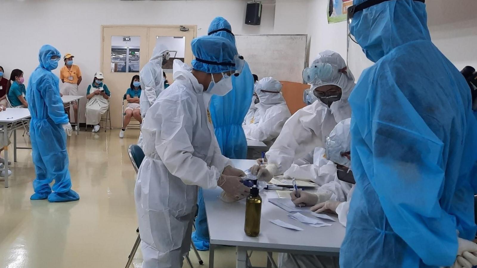 Ca mắc COVID-19 ở Khu Chế xuất Tân Thuận (TP.HCM)không có khả năng lây nhiễm