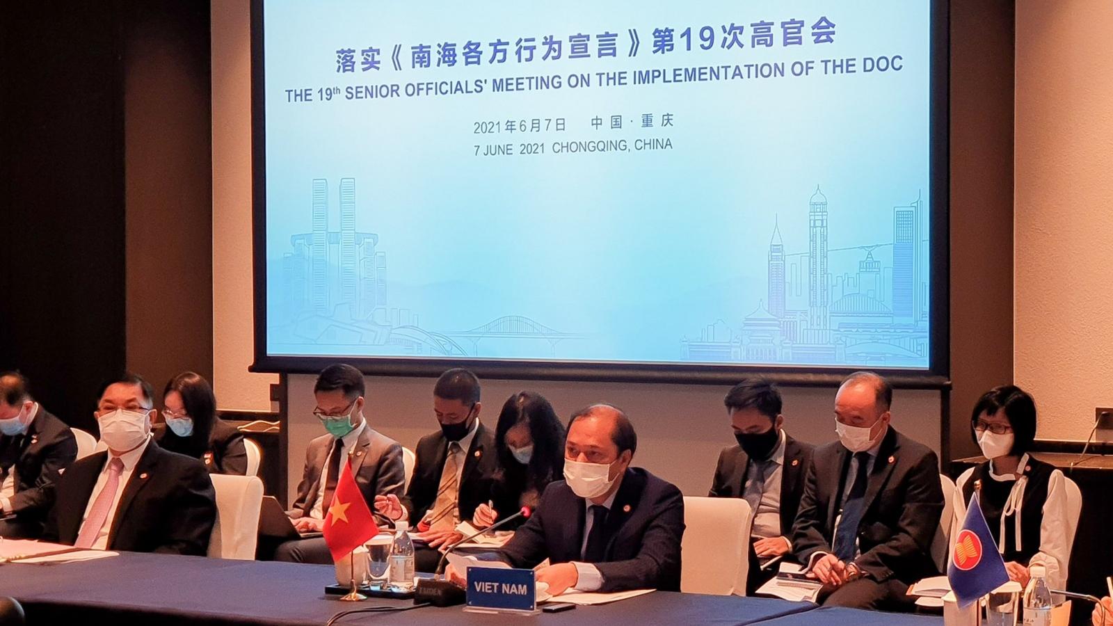 ASEAN và Trung Quốc cam kết thực hiện nghiêm túc và hiệu quả DOC