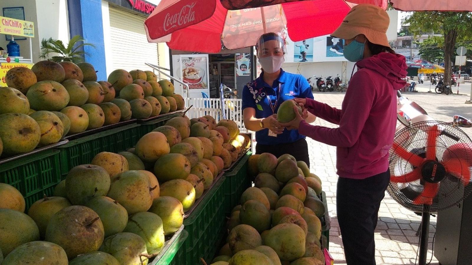 Khánh Hòa tìm hướng tiêu thụ nông sản giúp nông dân