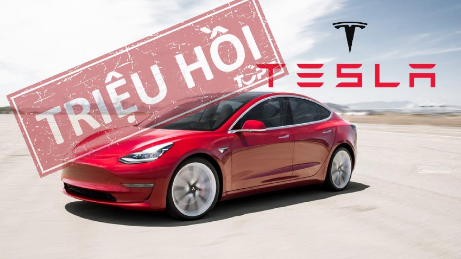 Tesla triệu hồi gần 6.000 xe tại Mỹ để khắc phục lỗi phanh