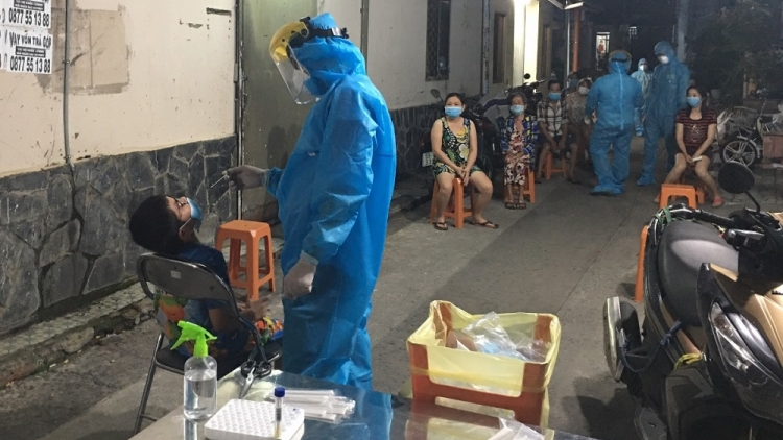 TP.HCM truy vết tại khu vực liên quan đến ca mắc Covid-19 ở Bệnh viện Bệnh Nhiệt đới