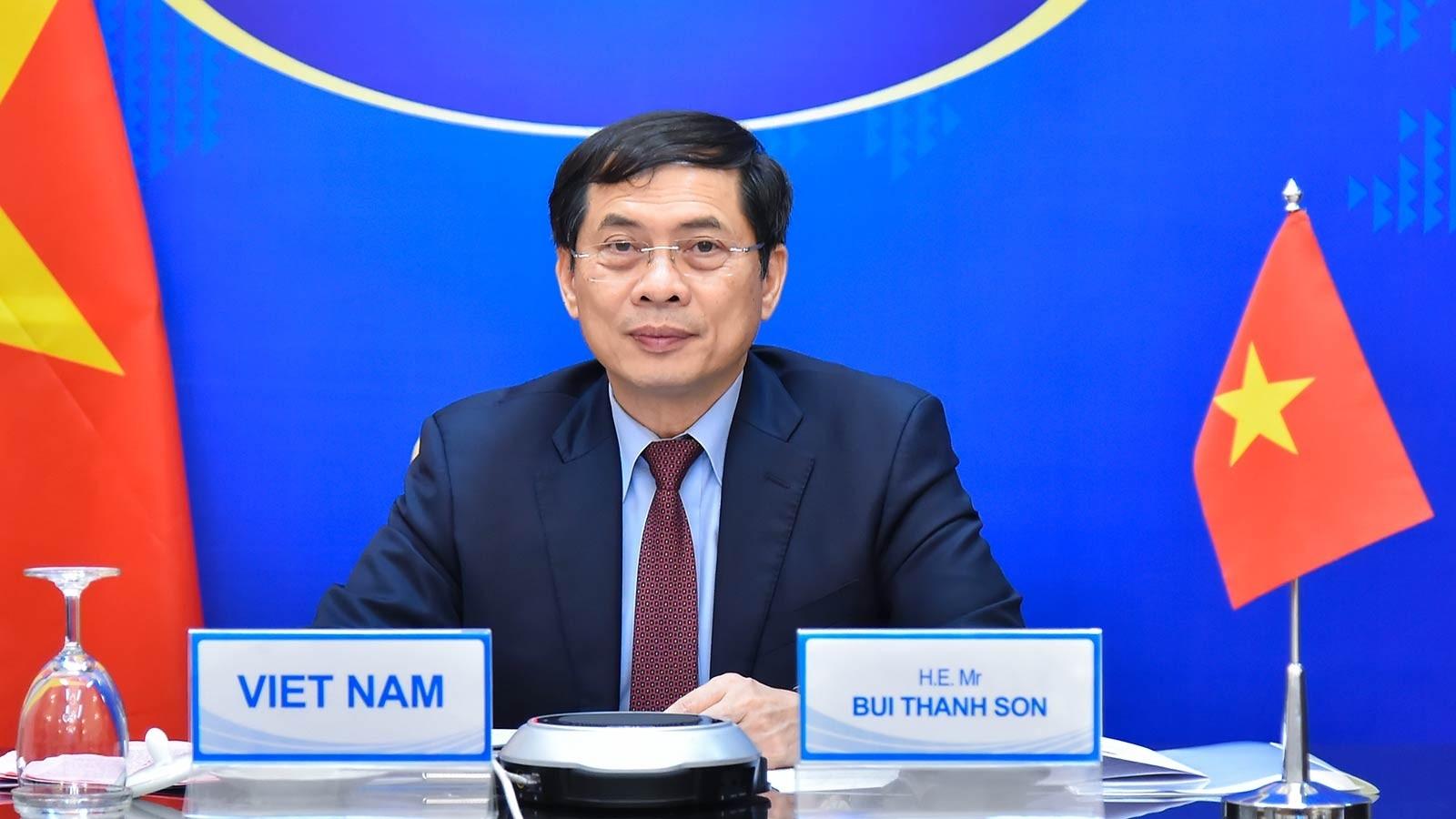 Bộ trưởng Bùi Thanh Sơn dự Hội nghị cao cấp về hợp tác Vành đai và Con đường