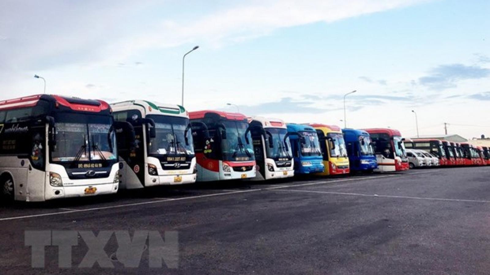 Xe khách tuyến Điện Biên-Hà Nội được hoạt động trở lại