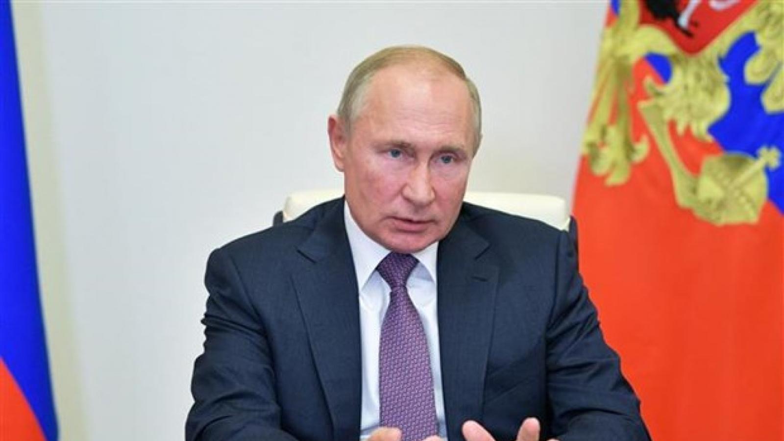 Tổng thống Putin gửi thông điệp cứng rắn tới Mỹ trước thềm thượng đỉnh tại Geneva