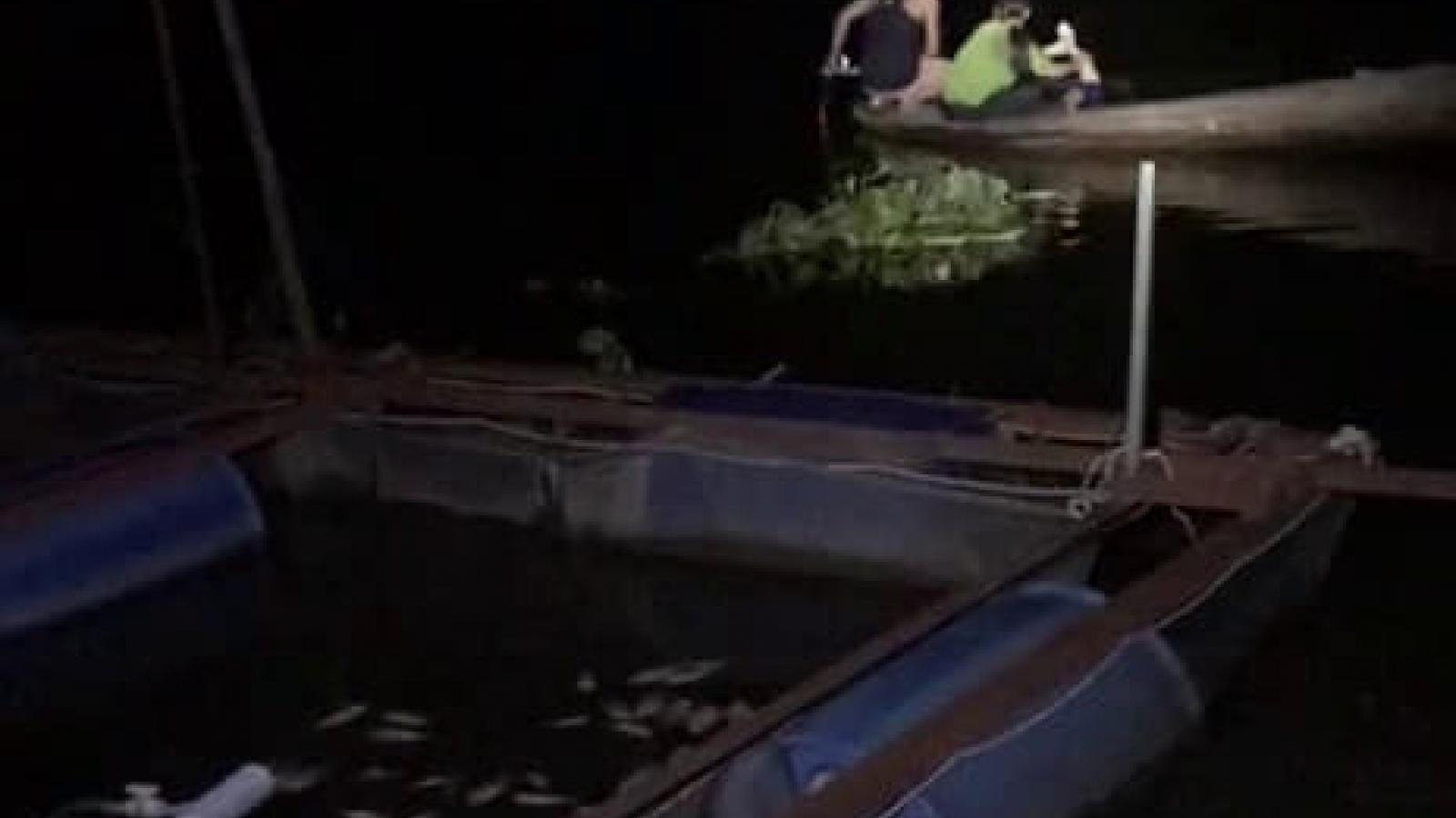 Đi chài bắt cá, một người bị điện giật tử vong