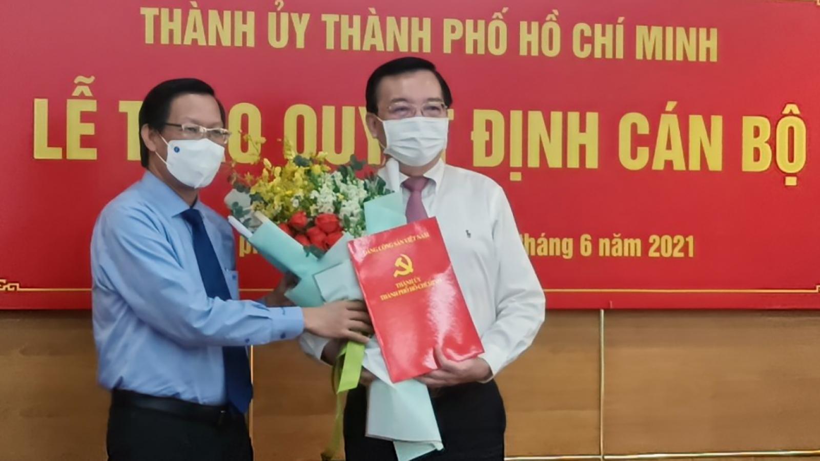 Nguyên Giám đốc Sở GD-ĐT làm Phó Trưởng Ban Tuyên giáo Thành uỷ TP.HCM