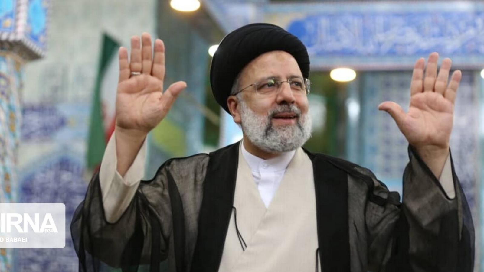 Ứng cử viên Ebrahim Raisi đang dẫn đầu cuộc bầu cử tổng thống Iran