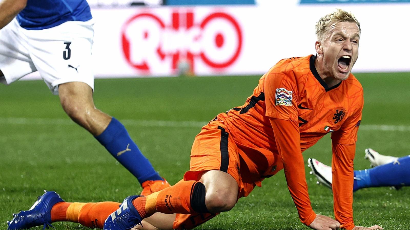 Van De Beek bỏ lỡ EURO 2021 vì chấn thương