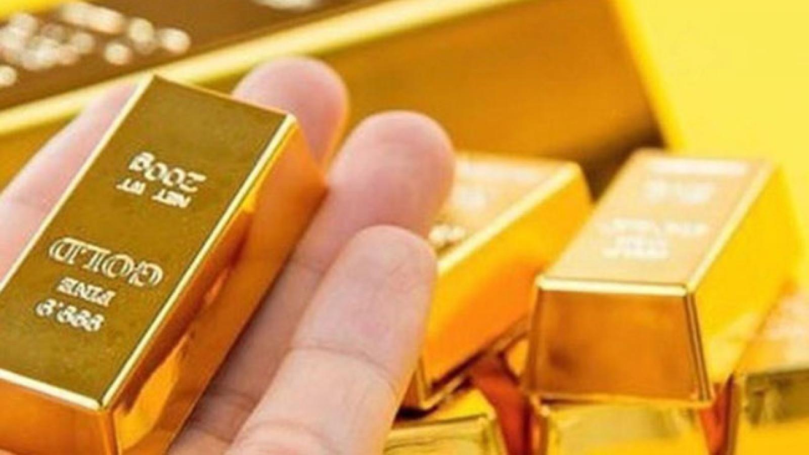 Giá vàng trong nước tăng sau dịp nghỉ lễ