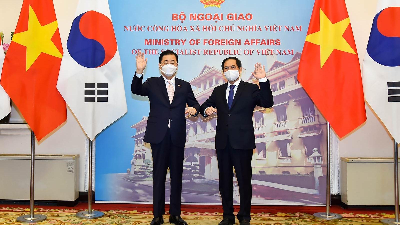 Hàn Quốc sẽ là đối tác mật thiết của Việt Nam trong phát triển kinh tế - xã hội