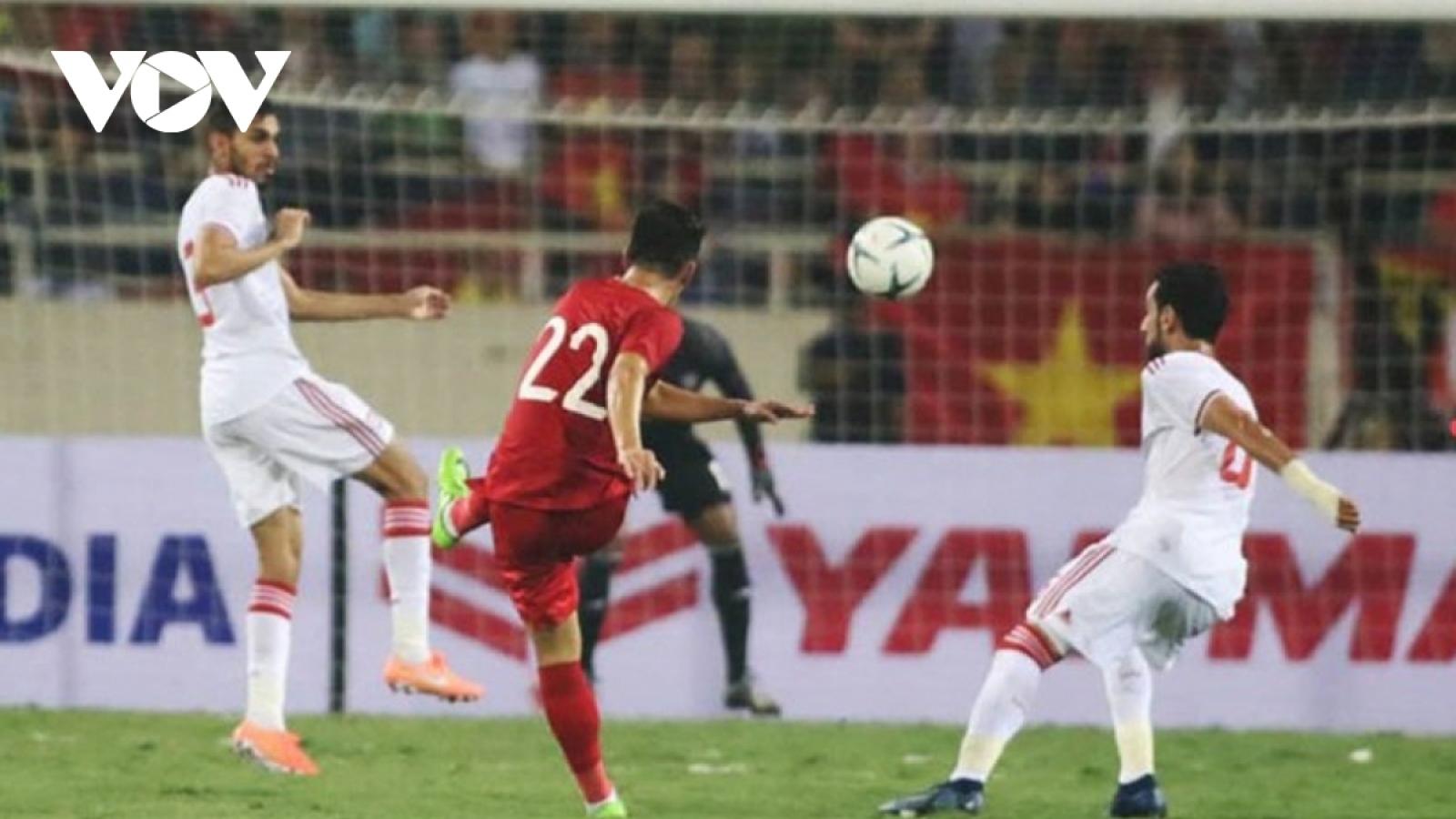 TRỰC TIẾP UAE vs ĐT Việt Nam: Viết trang sử mới ở Zabeel