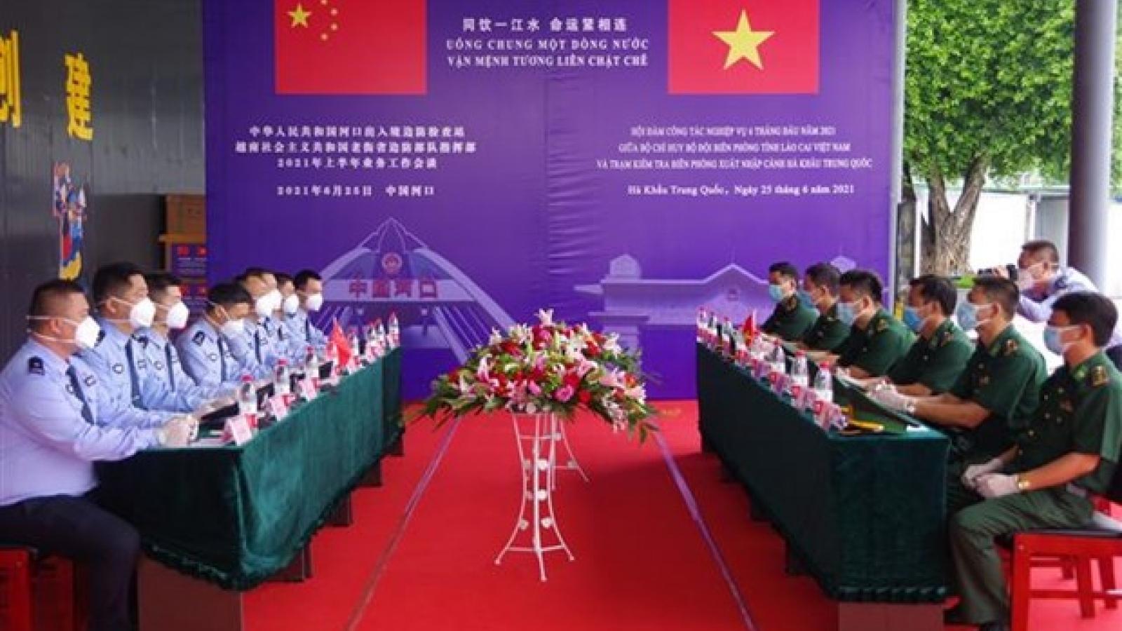 Vietnamese, Chinese provinces bolster border control