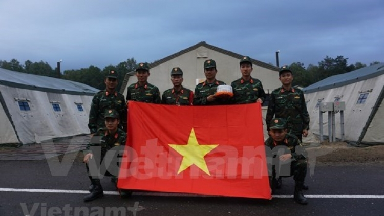 Vietnam's artillery team stands ready for 2021 Army Games