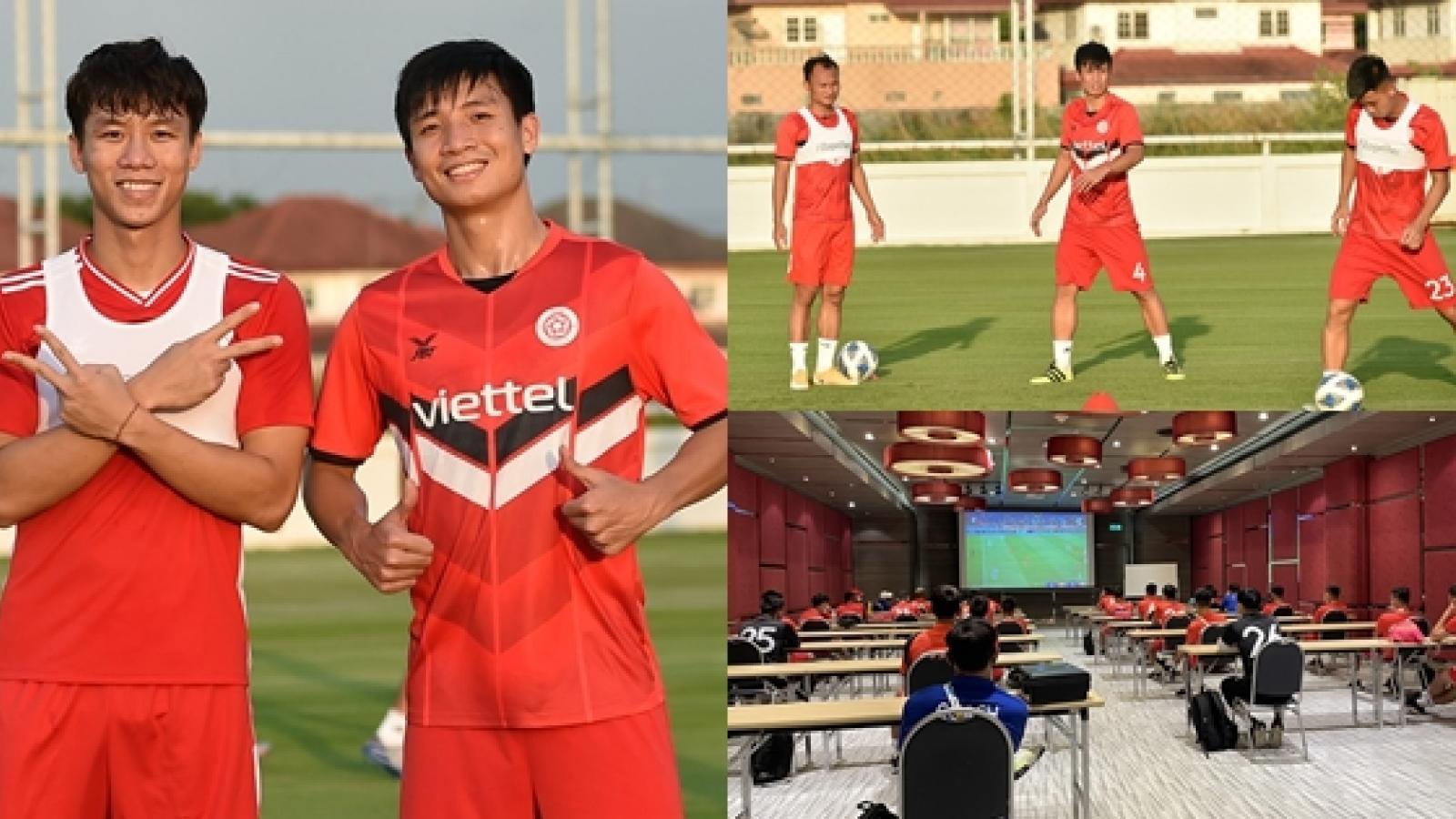 5 tuyển thủ Việt Nam hội quân, Viettel đổi HLV trưởng ở AFC Champions League